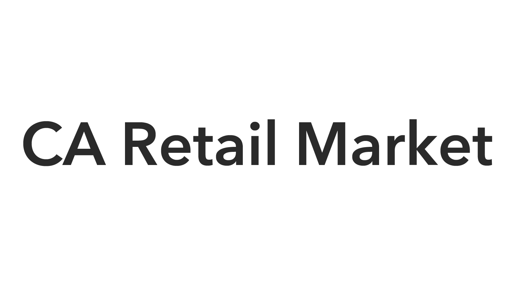 CA Retail Market